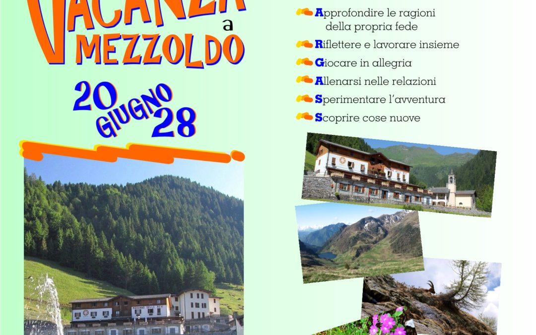 Vacanza Mezzoldo 2020 Primaria